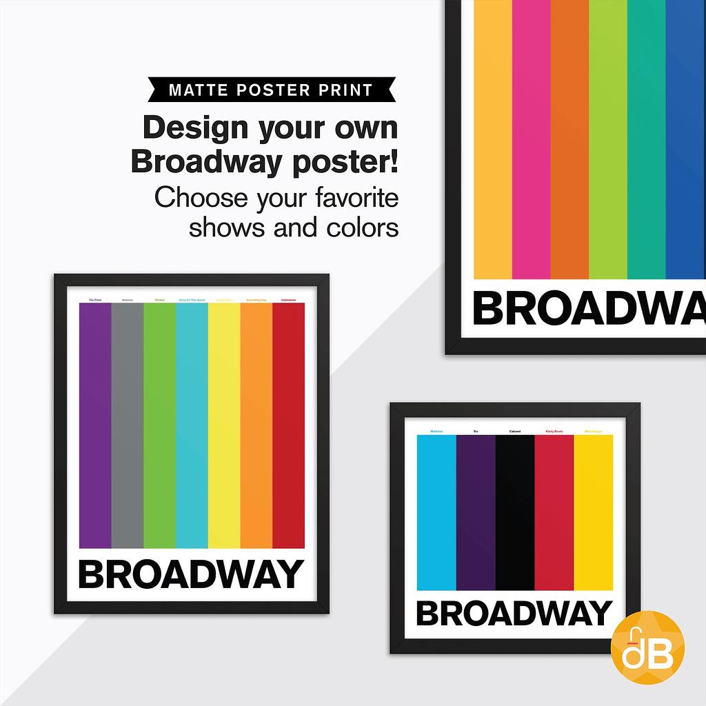 Custom Broadway Poster