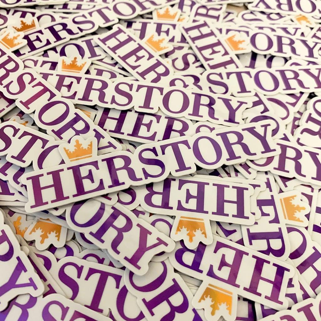 HERstory sticker